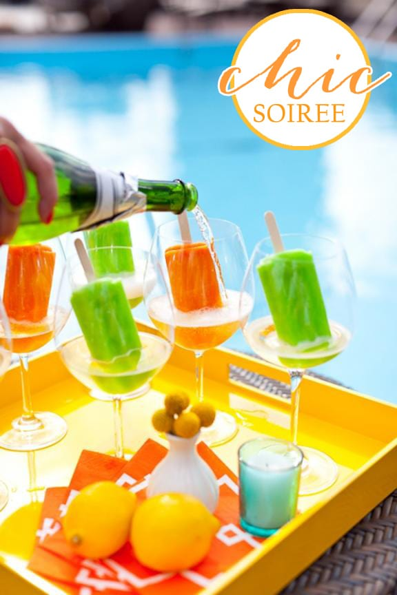 CHIC SUMMER POOLSIDE SOIREE