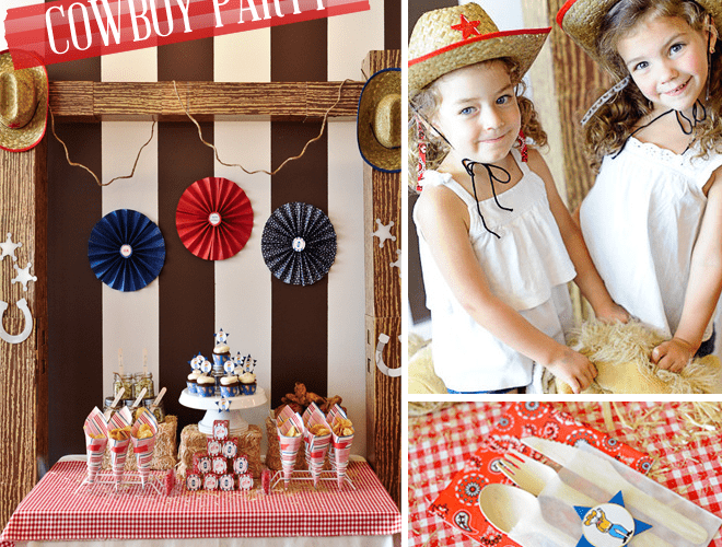 Yee-haw! Cowboy Themed Birthday Party!