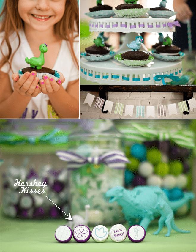 Dinosuar Girly Birthday Party 2