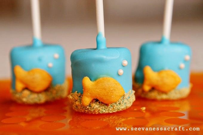 Polka Dot Goldfish 2nd Birthday Party!