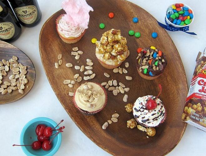 {Recipes} BALLPARK Cupcakes!