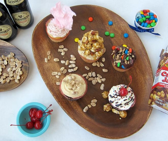 baseball themed cupcakes recipe