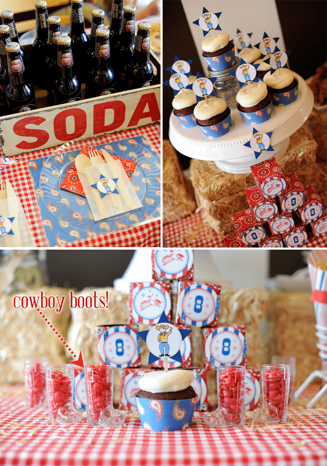 cowboy birthday party details