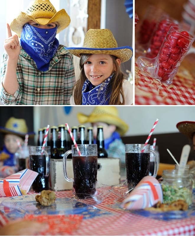 cowboy birthday party pictures