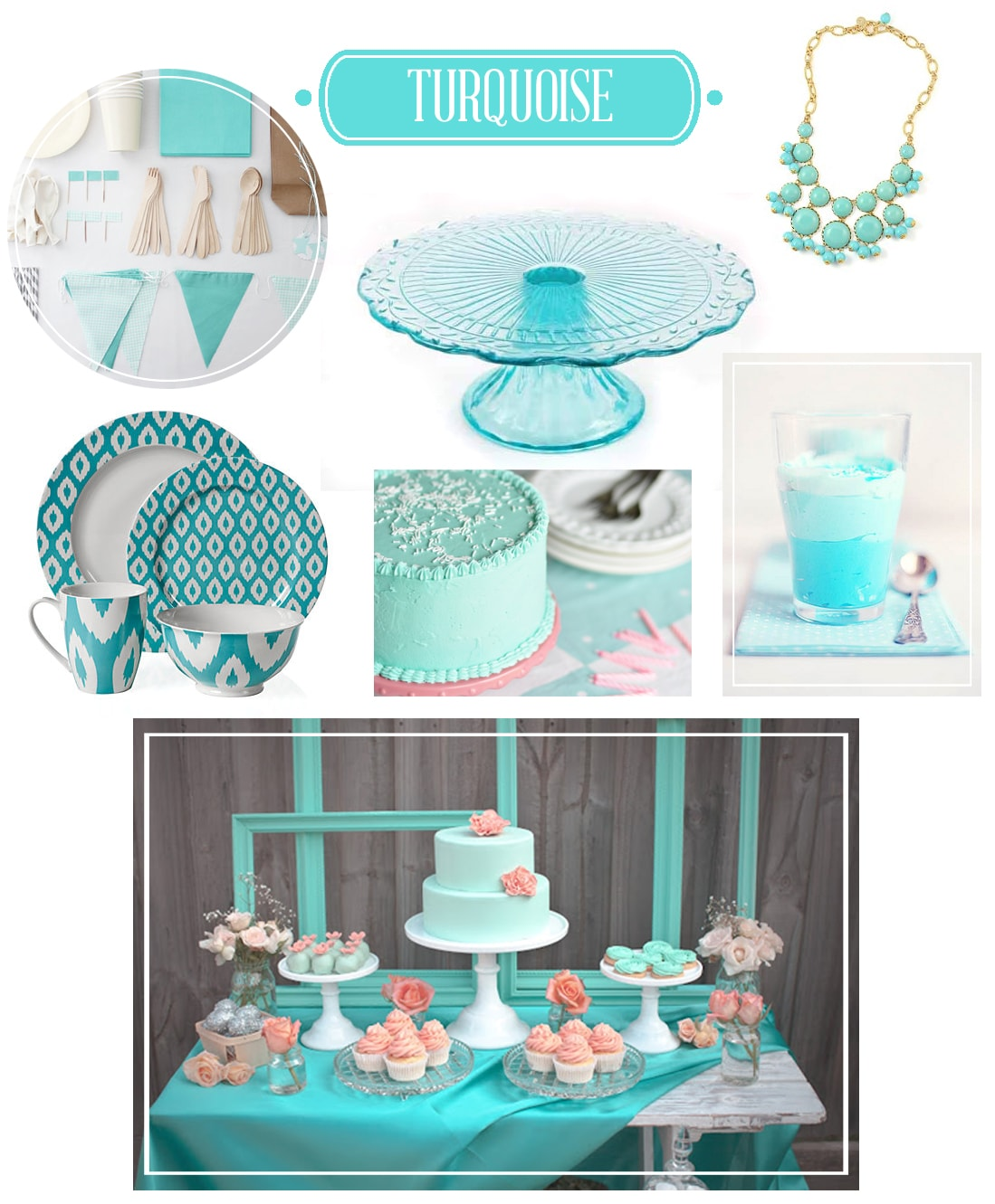 COLOR: For the love of Turquoise!