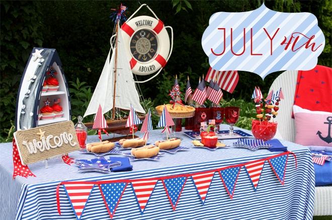 july 4th bacardi party ideas