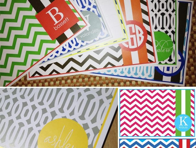 {Party Trend} Paper Placemats!