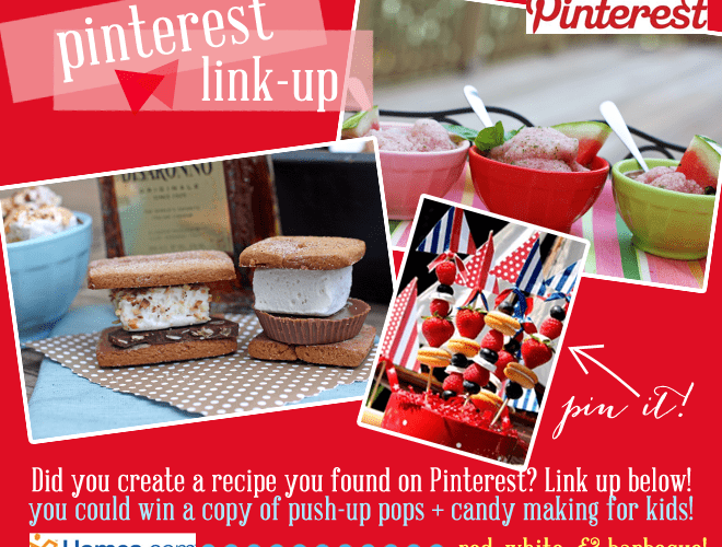 Summer Recipes: Pinterest Linky Party!