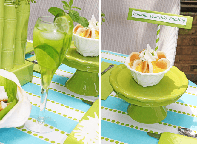 seaside dinner party limeade