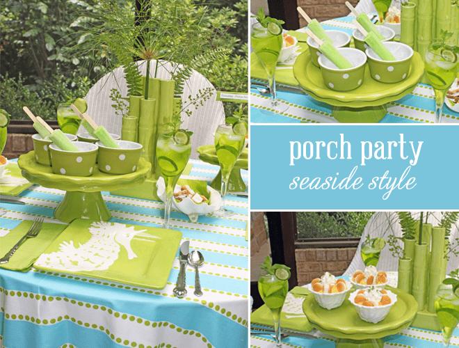 Porch Party: Seaside Summer Dinner!