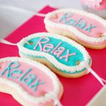 spa party cookies feature image