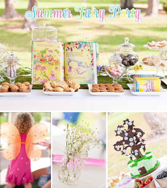 summer fairy birthday party
