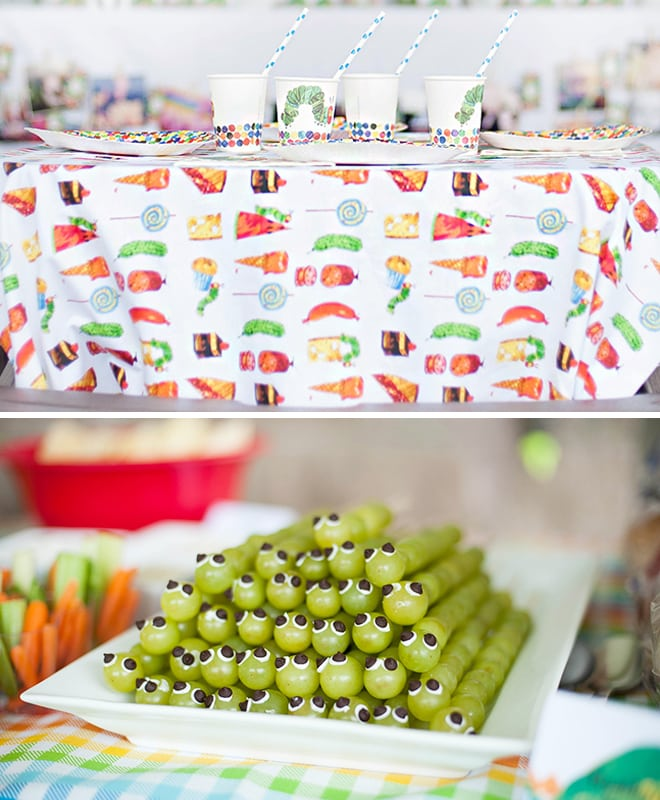 very hungry caterpillar party 4