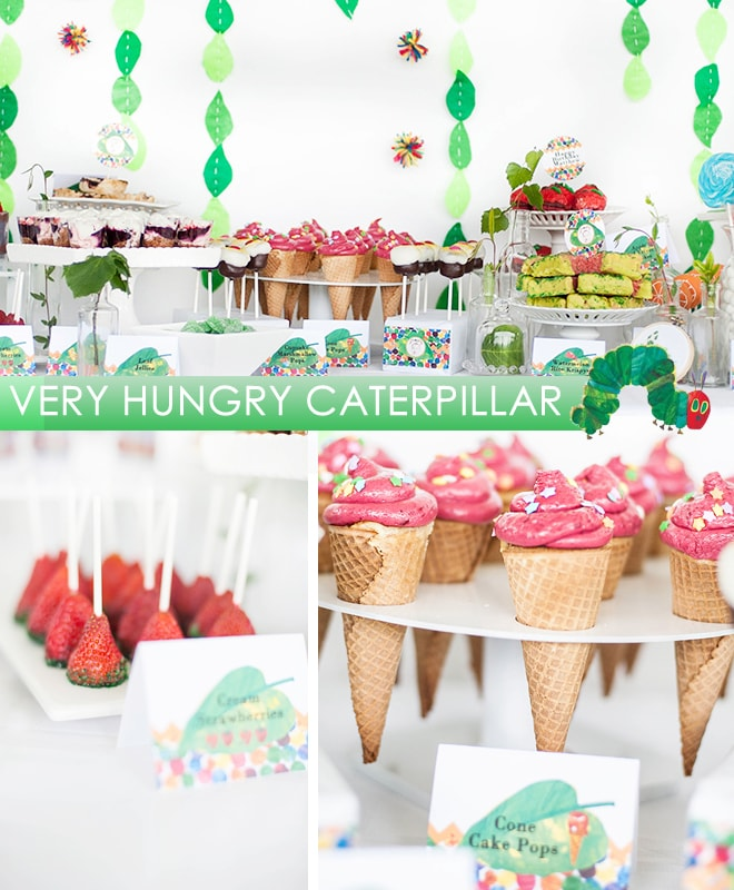 very hungry caterpillar party
