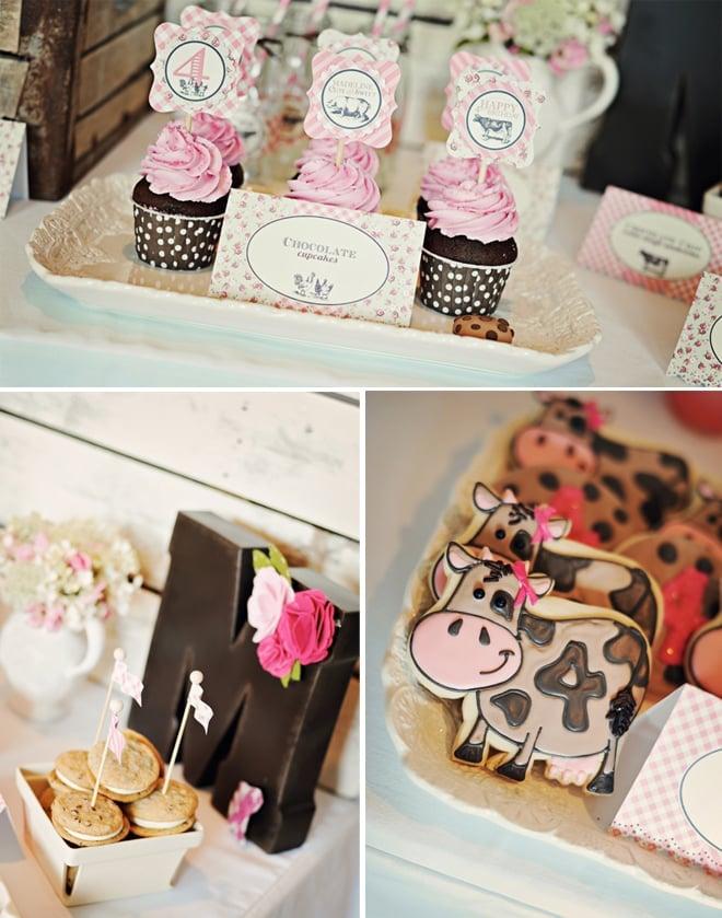 vintage farm fresh birthday party 3