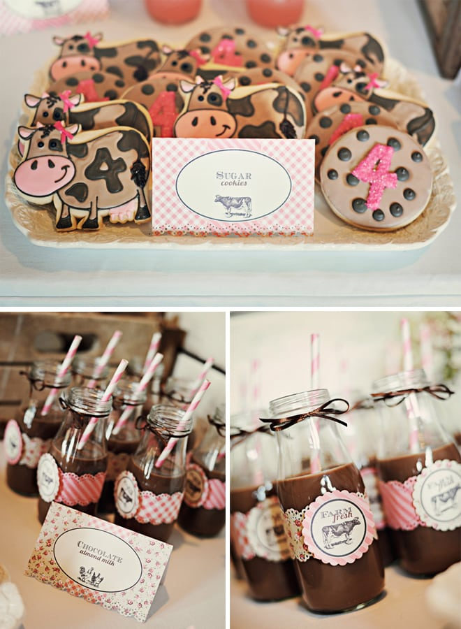 vintage farm fresh birthday party 6