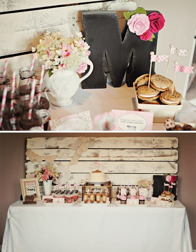 vintage farm fresh birthday party 8