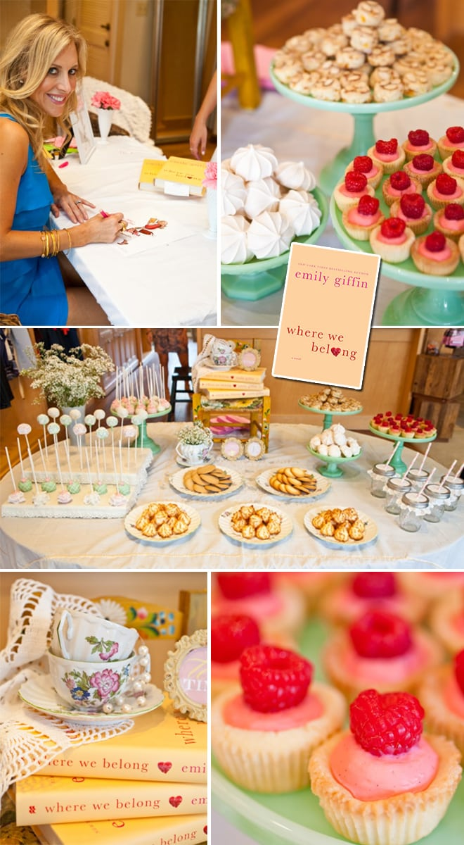 Emily Giffin Where We Belong Book Signing Party