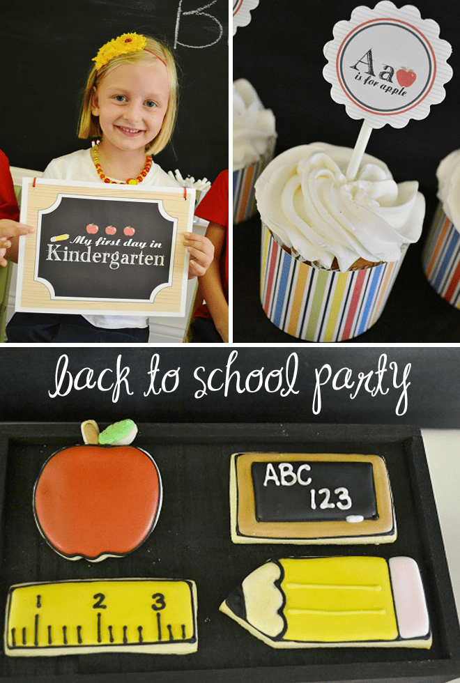 back to school party picture