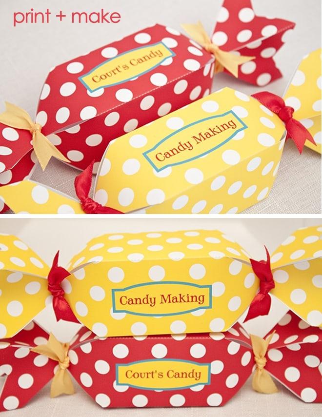 candy making box