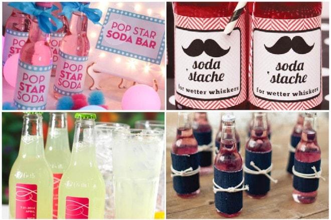 celebrate with soda