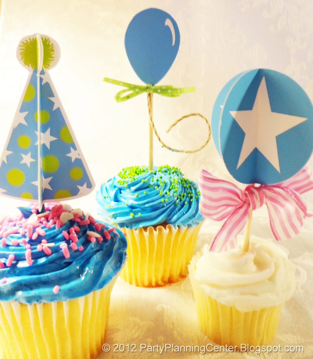 cupcake-toppers-blue