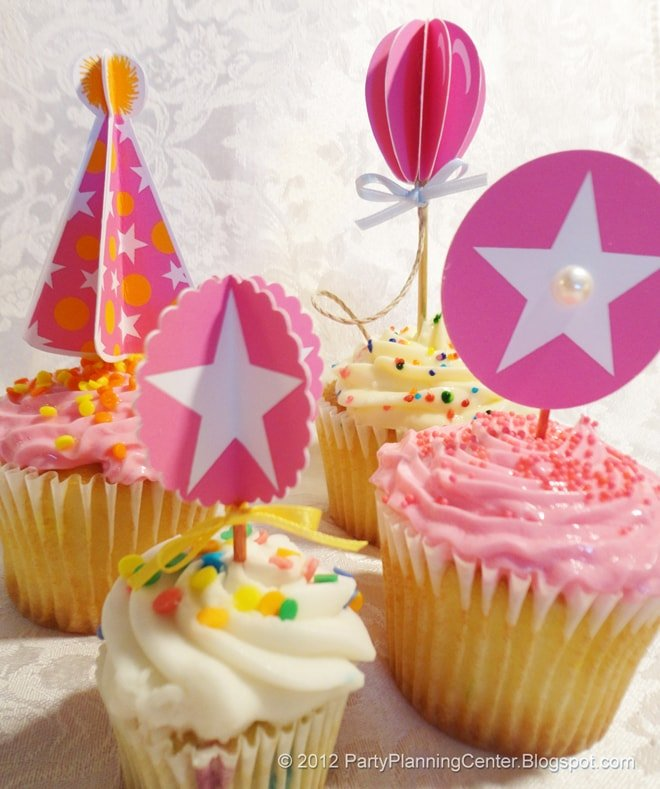 cupcake-toppers-pink