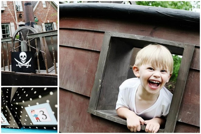 cute children's pirate party 2