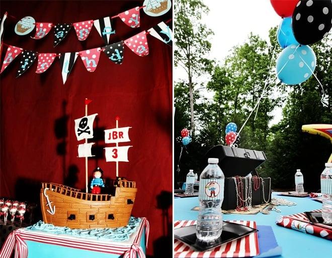 cute children's pirate party 6