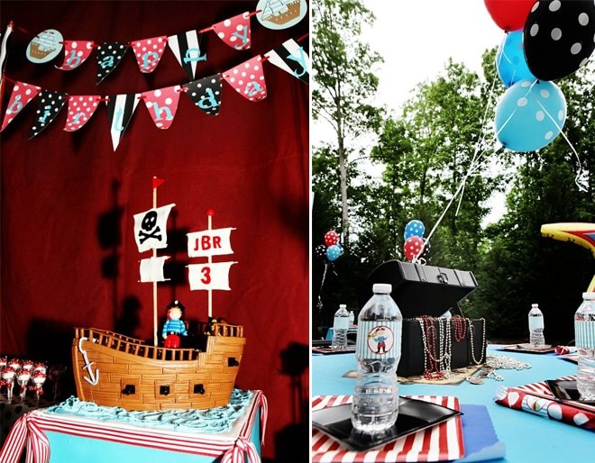 cute children's pirate party 6