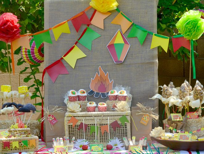 "Colorful ""Festa Junina"" Party Feature!"