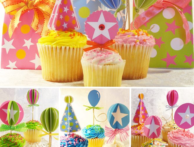Free Cupcake Toppers + Printables!