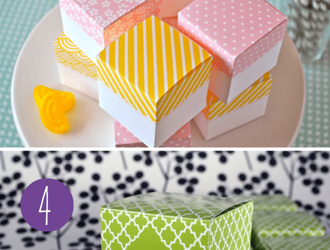 Free Favor Box Printables for Parties + more!