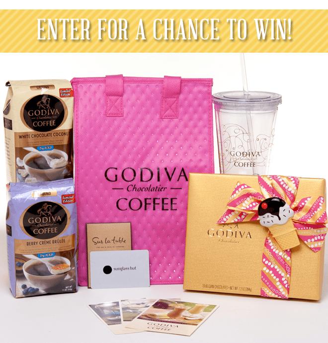 godiva coffee prize pack 2