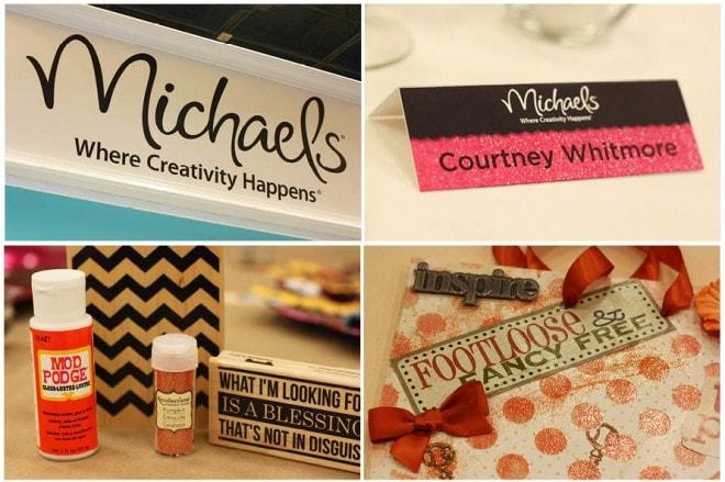 michaels blogger event recap by pizzazzerie 2