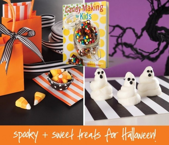 Halloween Candy Making For Kids by Courtney Whitmore of Pizzazzerie