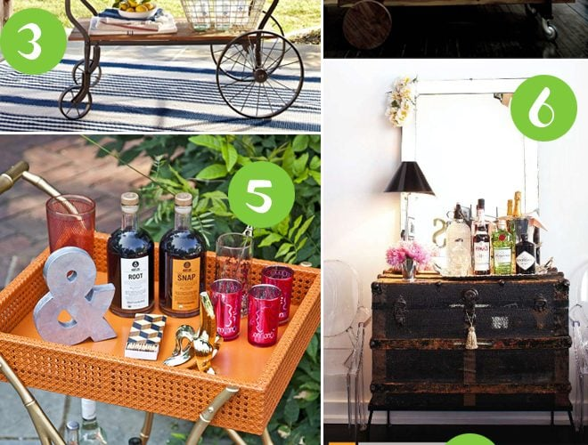 Party Fave: The Bar Cart!