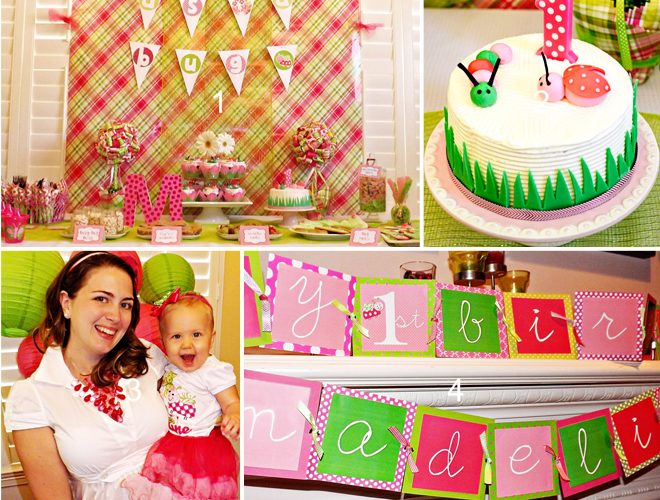 Pink Girly Bug Party!