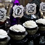 haunted halloween cupcakes