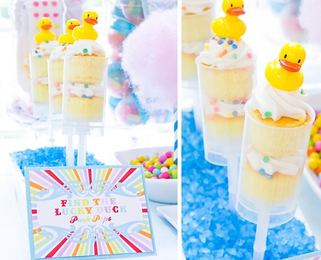 Find the Lucky Duck Push-Up Pops Featured on Pizzazzerie 2