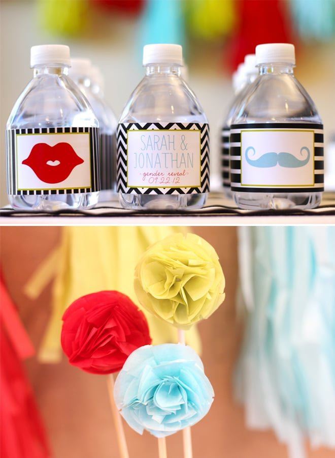 Gender Reveal Party Picture