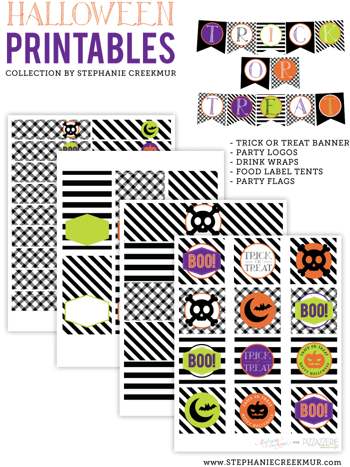 Free Halloween Printable Collection on Pizzazzerie!