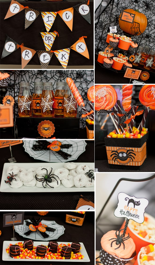 Spooky Cute Halloween Party in Black and Orange! 2