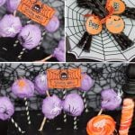 Spooky Spider web Treats for Halloween Party