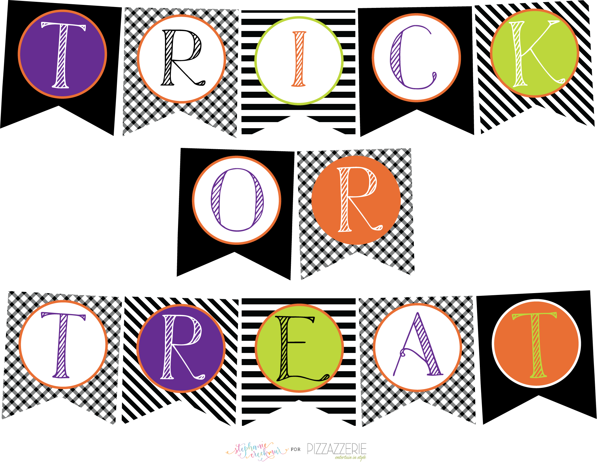This is a graphic of Delicate Free Printable Halloween Decorations