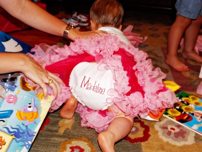 cute birthday baby bloomers