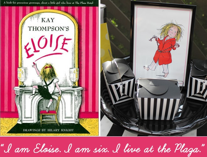 Eloise at the Plaza Party!