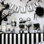 image10 black and white sophistictated old movie halloween printable collection
