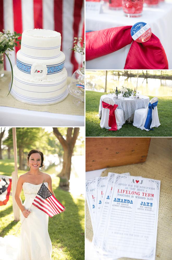Election-Themed-Wedding