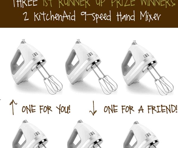 Fall Giveaway: KitchenAid Mixers!